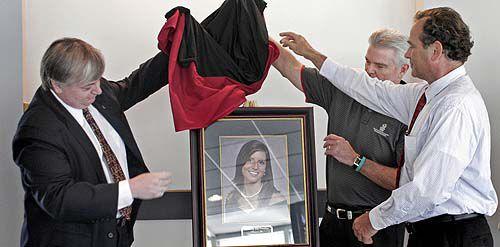 Pendley portrait unveiled at USC