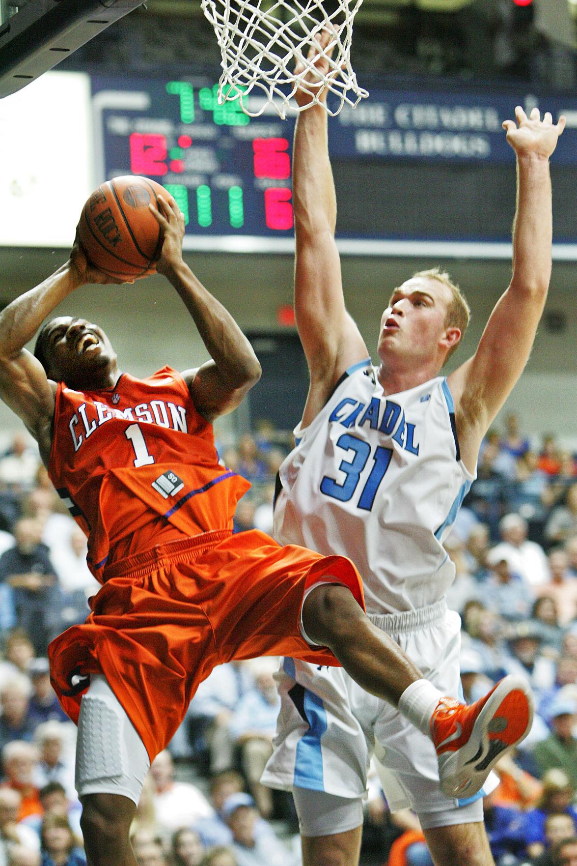 The Citadel vs. Clemson basketball