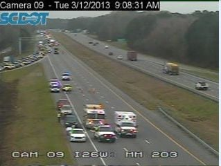 All lanes reopened after wreck on Interstate 26; state Highway Patrol is investigating