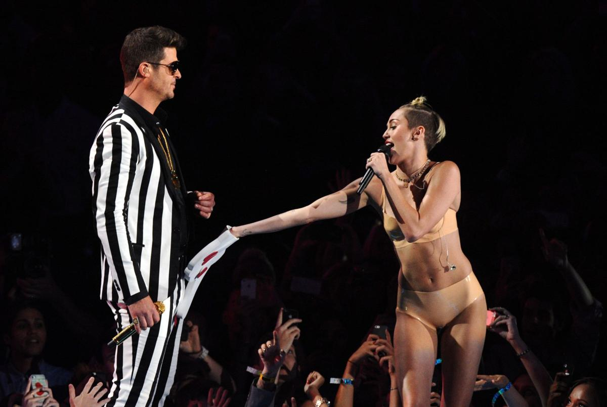 Robin Thicke's 'Blurred Lines' named Billboard song of the summer