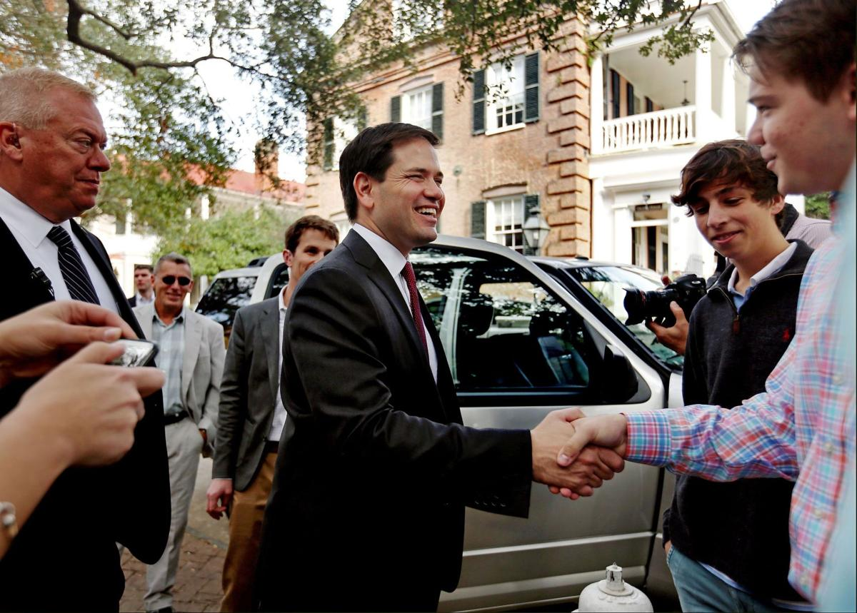 Rubio at the College of Charleston