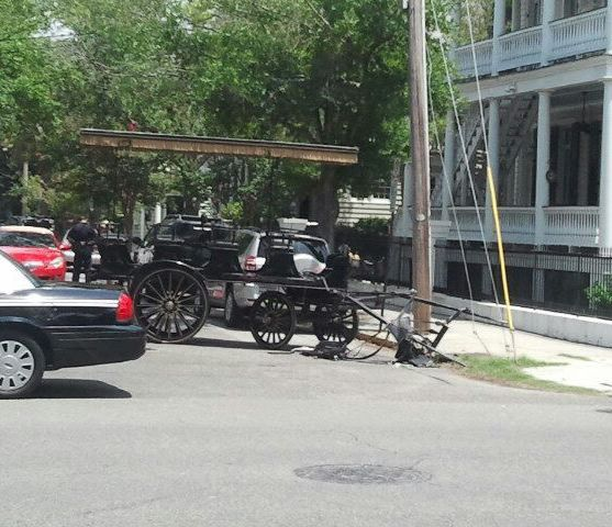 PHOTO: A horseless carriage