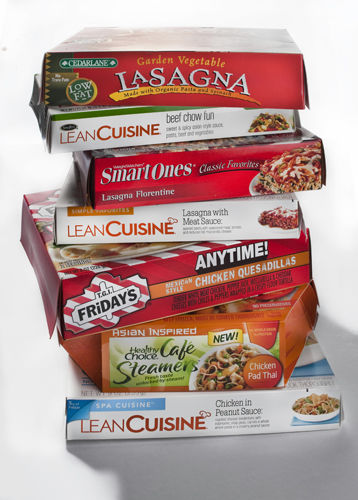 Frozen entrees easy meals