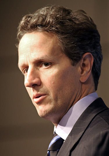 Geithner lowers estimates