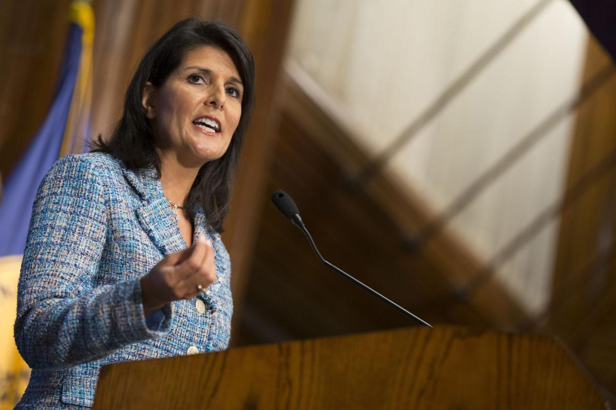 It's not a great day in South Carolina for everyone, but Haley is on the right track