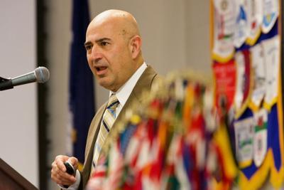 Vahid Majidi, Aiken Rotary, Flags