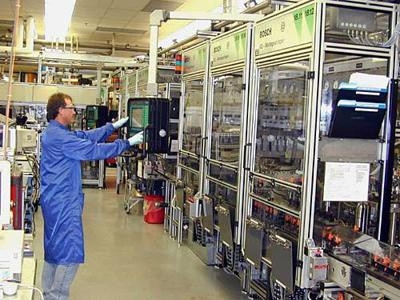 Temporary shutdowns at Bosch planned