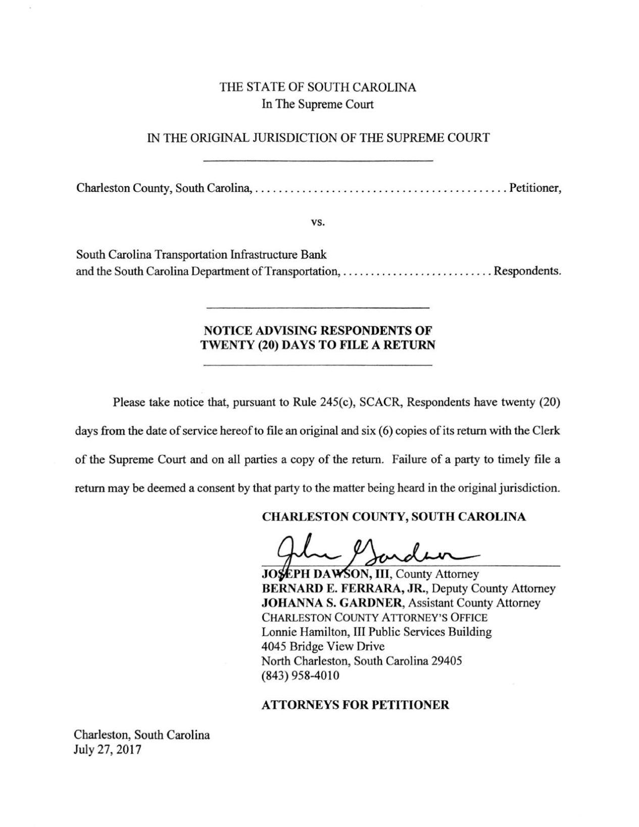 charleston county south carolina court records