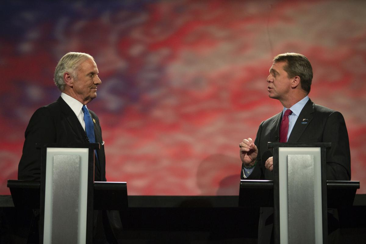 Gov  Henry McMaster and Rep  James Smith debate in