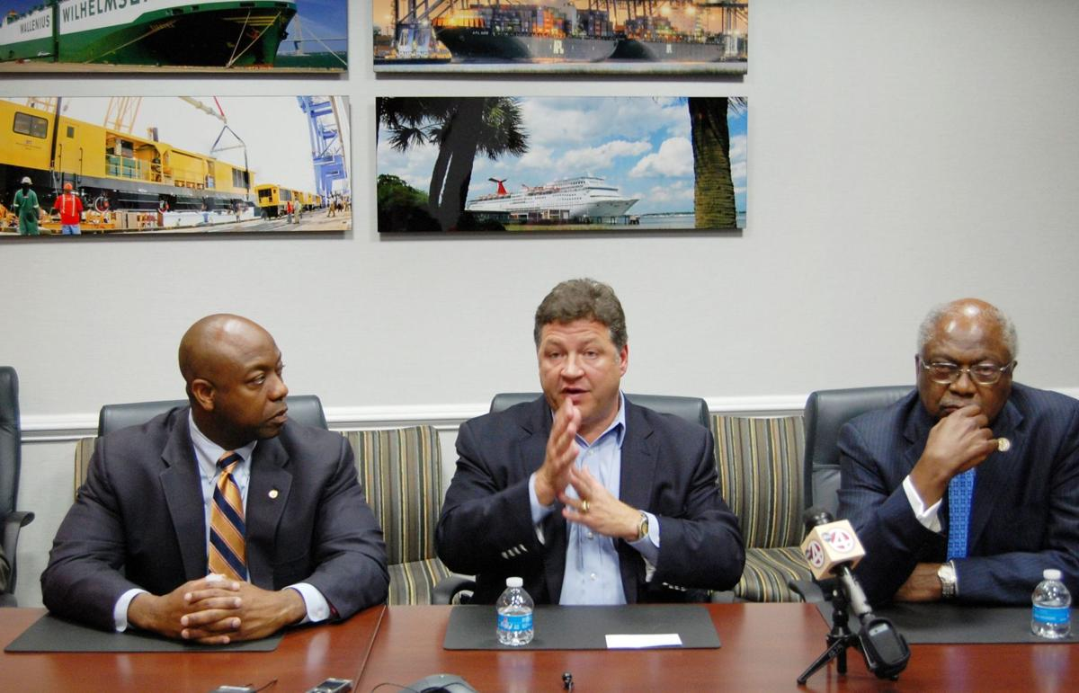 Shuster proposes tapping port fund