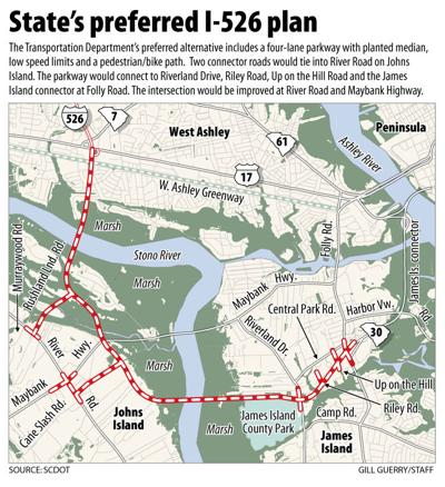 SCDOT pushes for decision on I-526