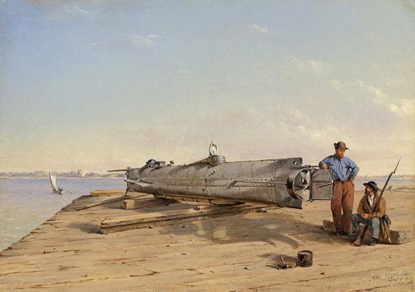 Rare Civil War art on Web: Museum of Confederacy exhibit shows Conrad Chapman's Charleston scenes