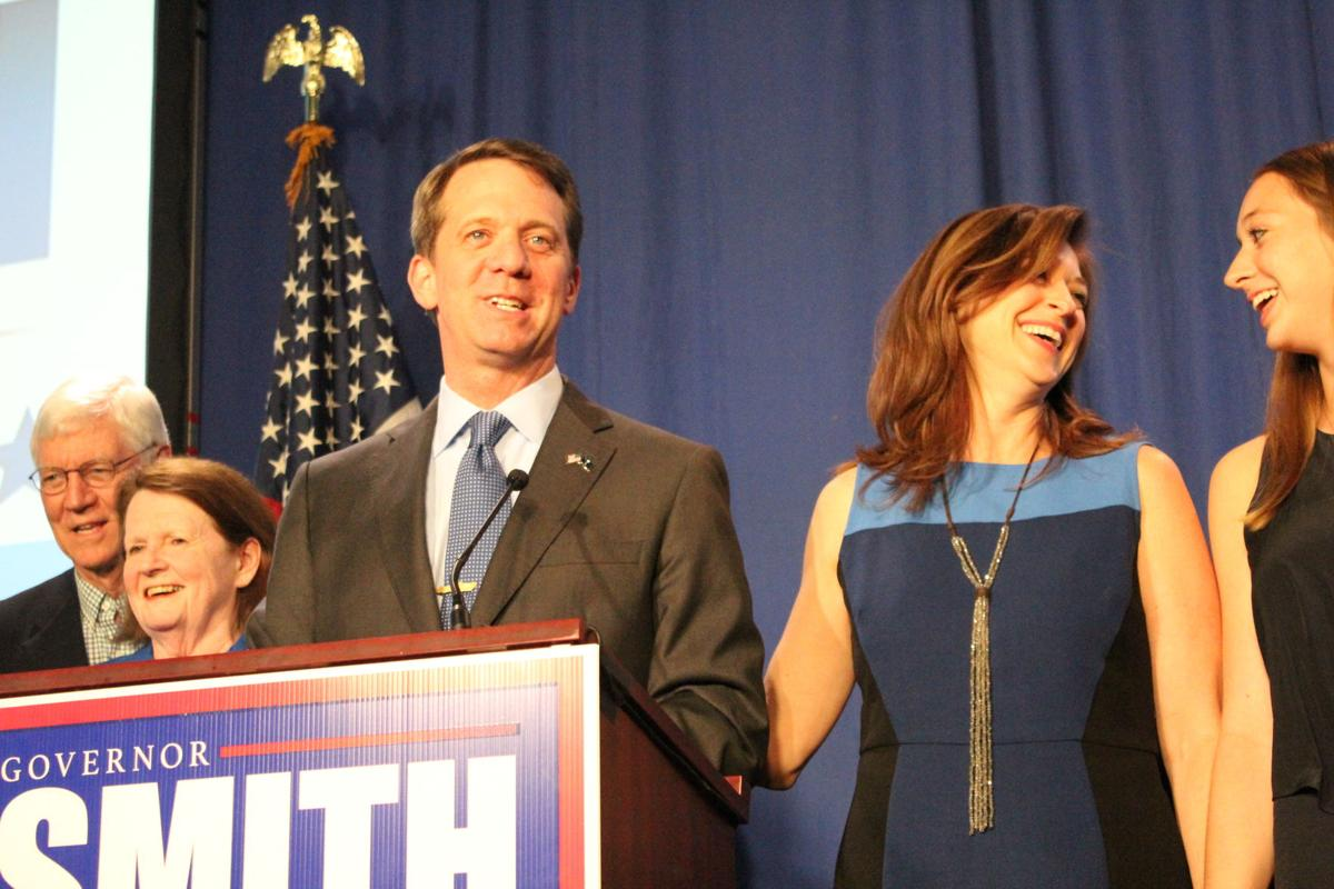 James Smith election night