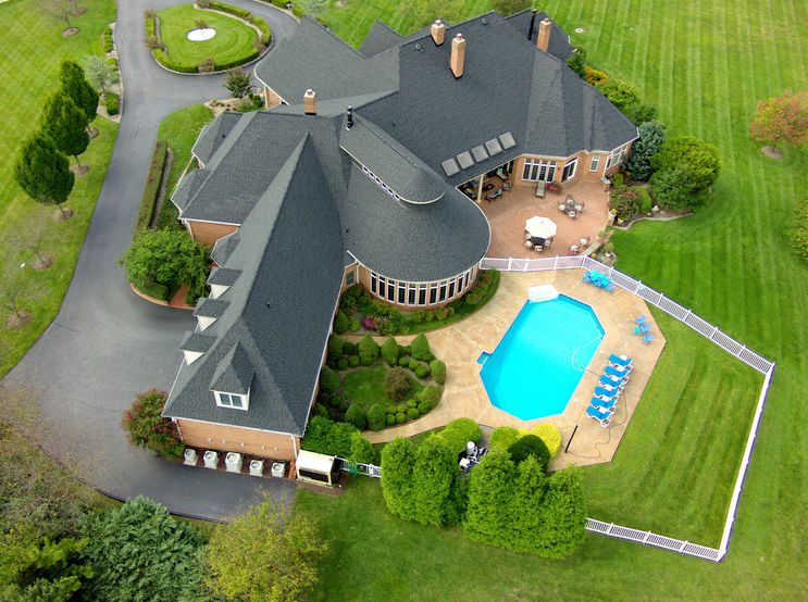 Drone photography professional yet lower cost way to log