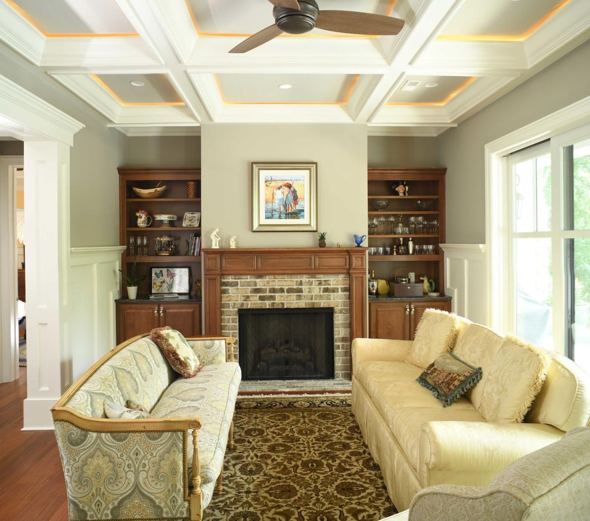 Thomspson home living room
