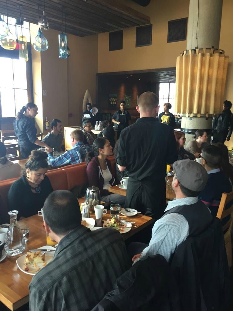Brunch emerges as locus of police brutality protests