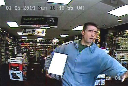 Man caught on camera stealing Xbox from West Ashley game store