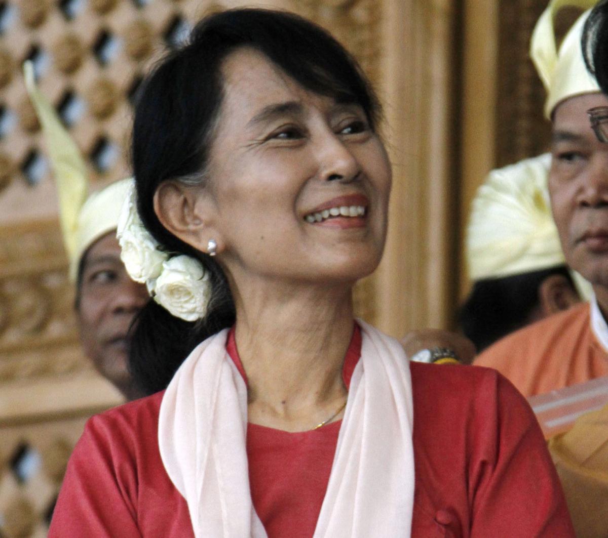 Suu Kyi to visit U.S. for award