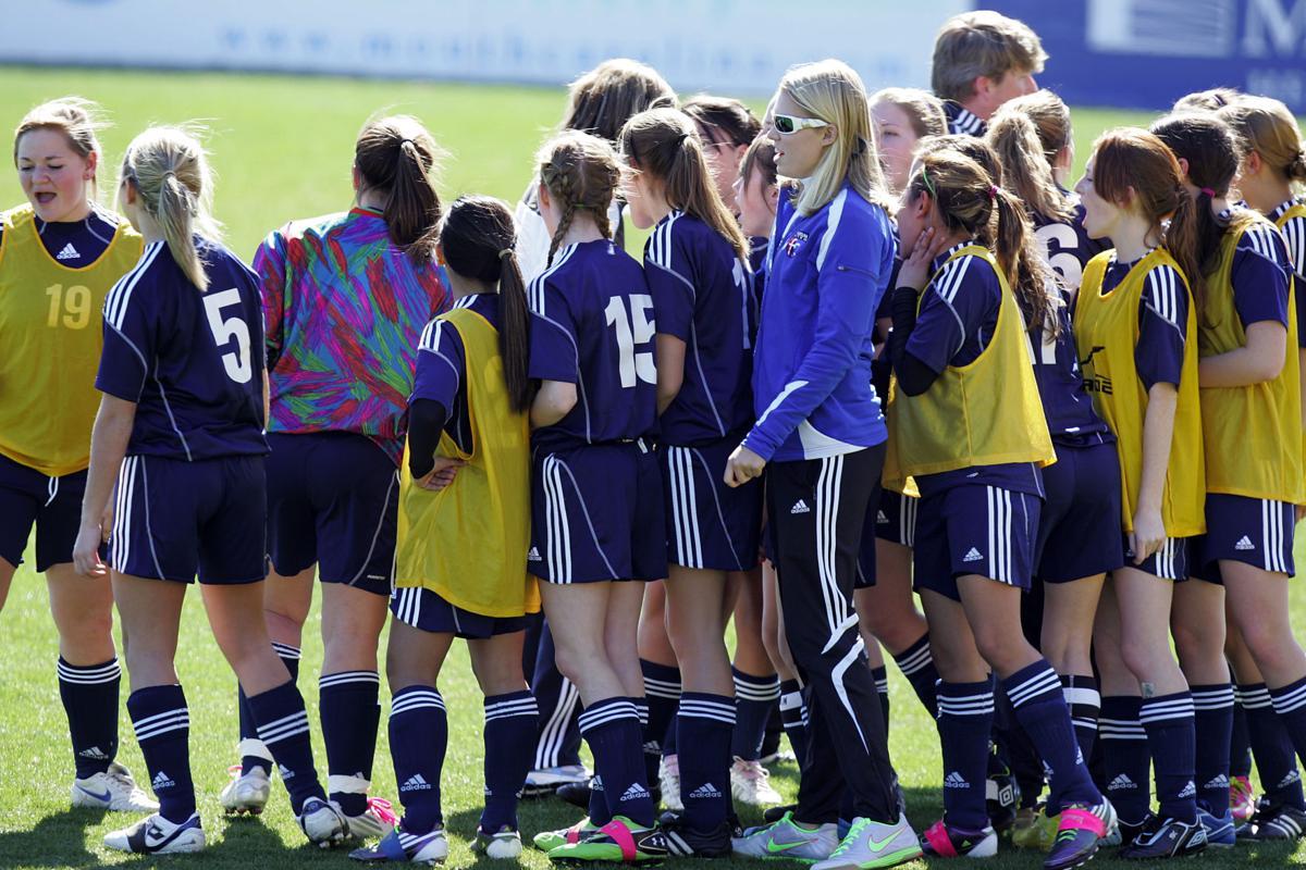 Ashley Hall vs Colleton Girls in Rotary Soccer