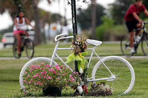Driver blamed in cyclist collision