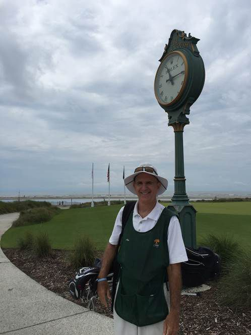 Kiawah caddy plays by rules in his job