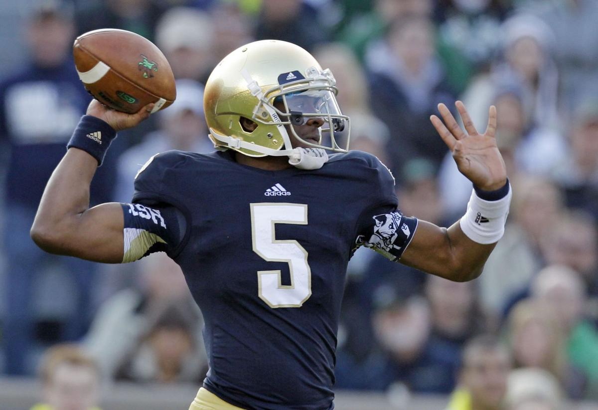 Notre Dame transfer Everett Golson would need waiver to play at SEC school