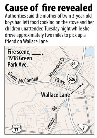Twins home alone before fatal West Ashley fire