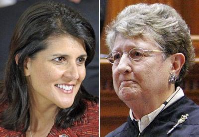 Toal blasts Haley over veto