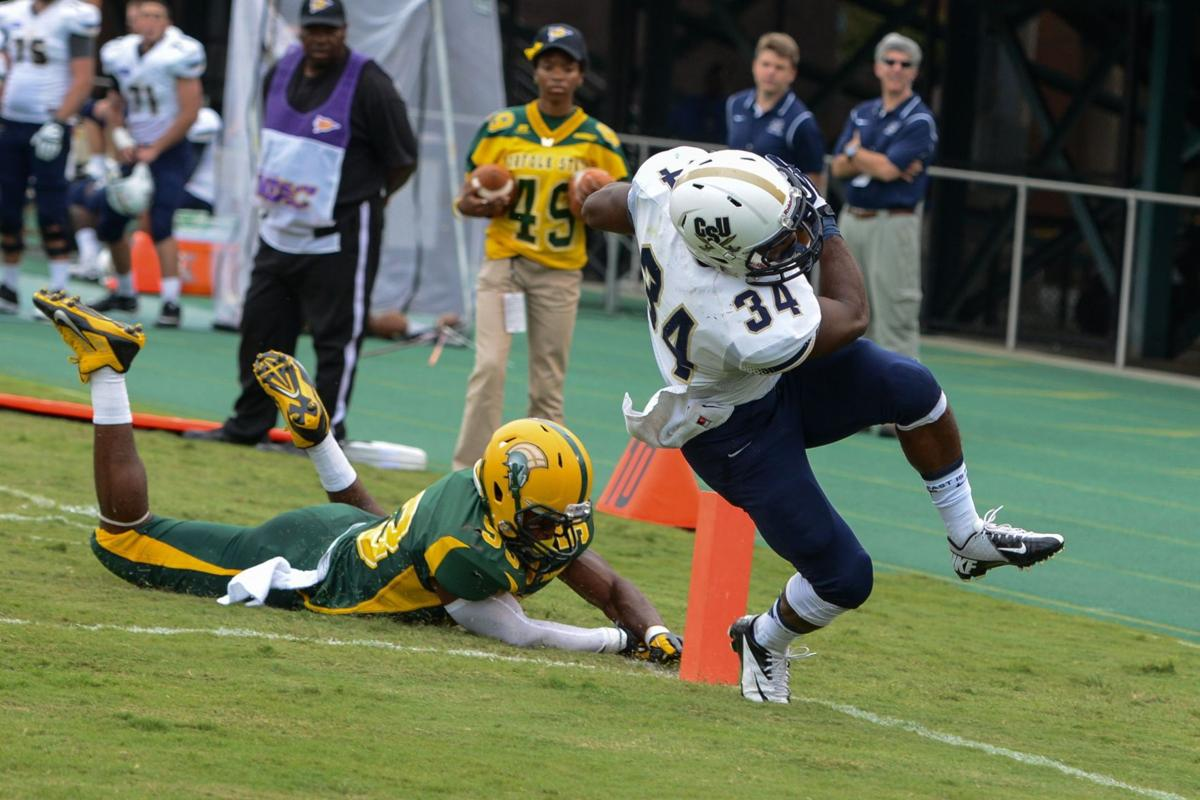 Charleston Southern's Ben Robinson named Big South freshman of week