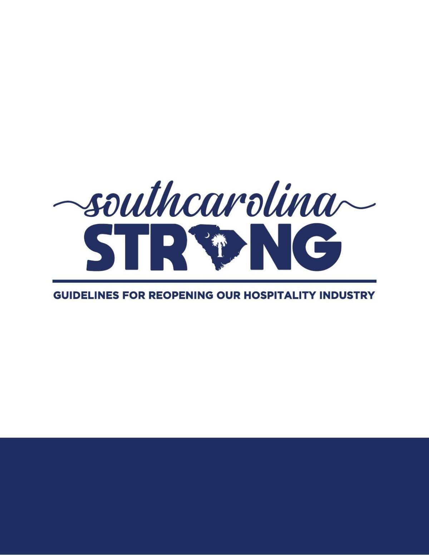 SC Restaurant Reopening Guidelines