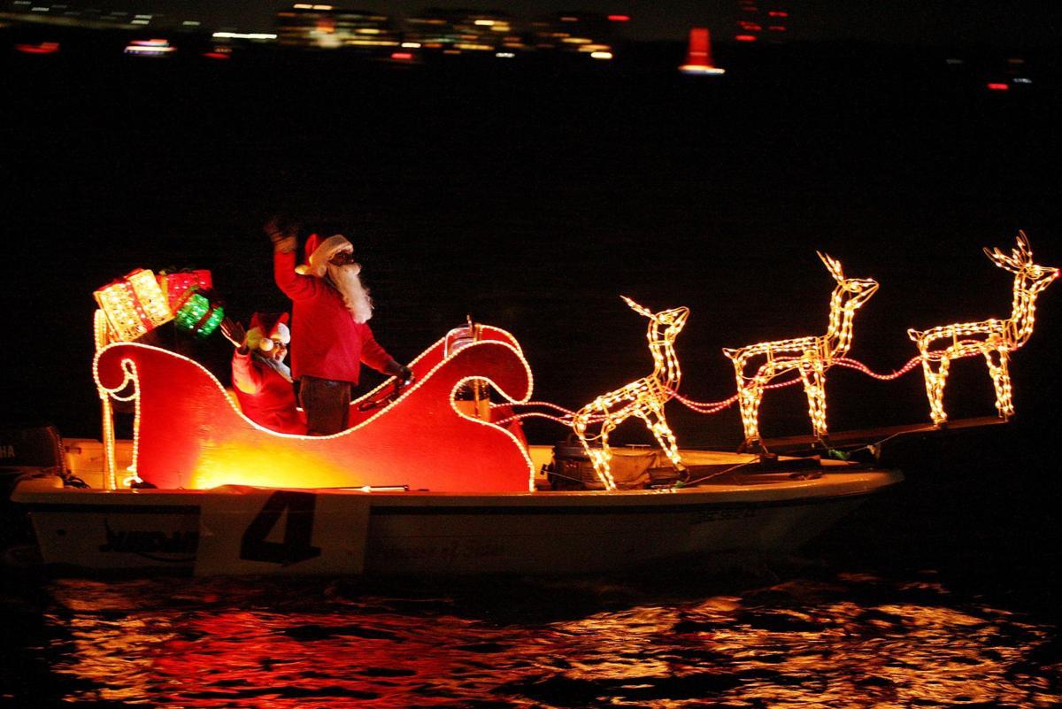 Charleston Christmas past