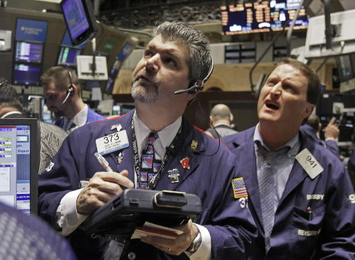 Markets edge up for day, month