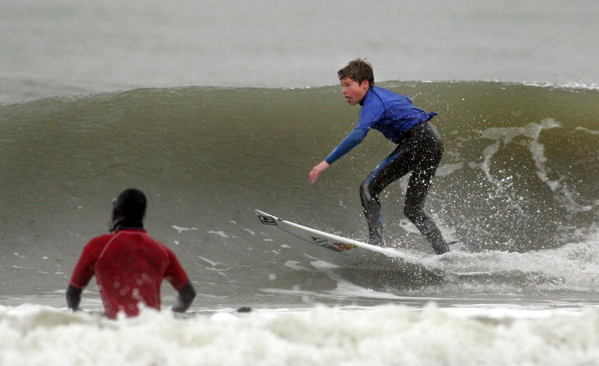 Surf's up, Icebox Open on for Sunday
