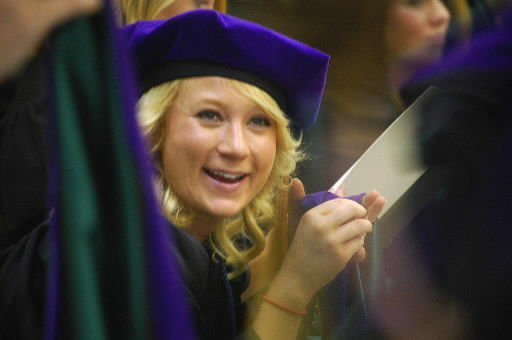 Grads told to be 'victorious'