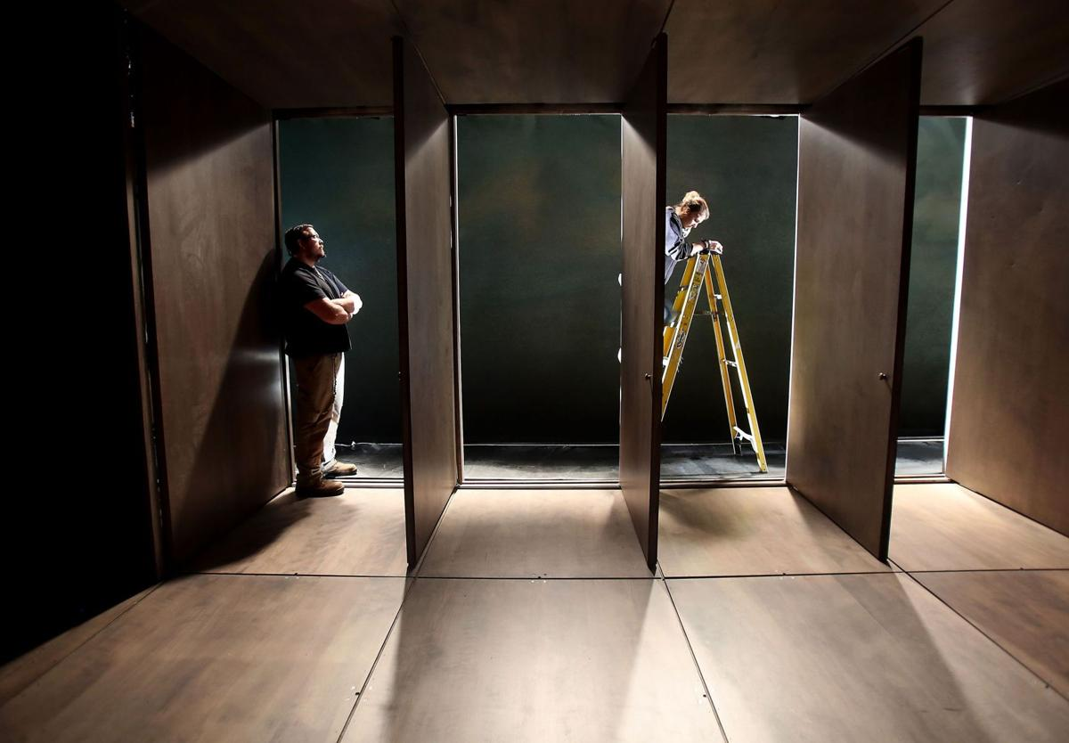 On the lookout for 'Hot Johnny' Behind the scenes with Spoleto's set builders