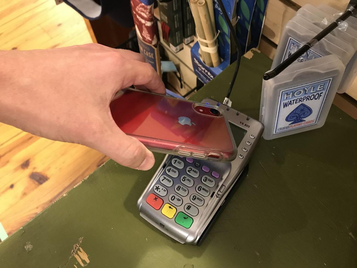 Apple Pay swipe