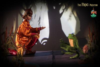 Columbia Marionette Theatre's The Frog Princess