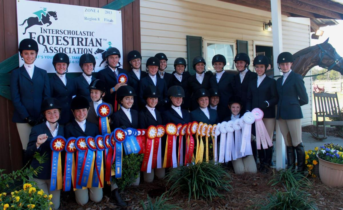 Storybook equestrian teams head to zone competition