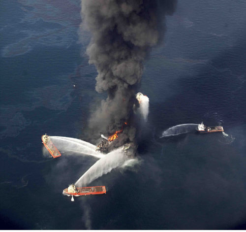 Oil spill tops stories for 2010