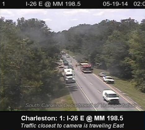 One east bound lane of I-26 reopened near Summerville exit