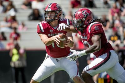 c53868f3a 7 things to look for in the South Carolina football spring game ...
