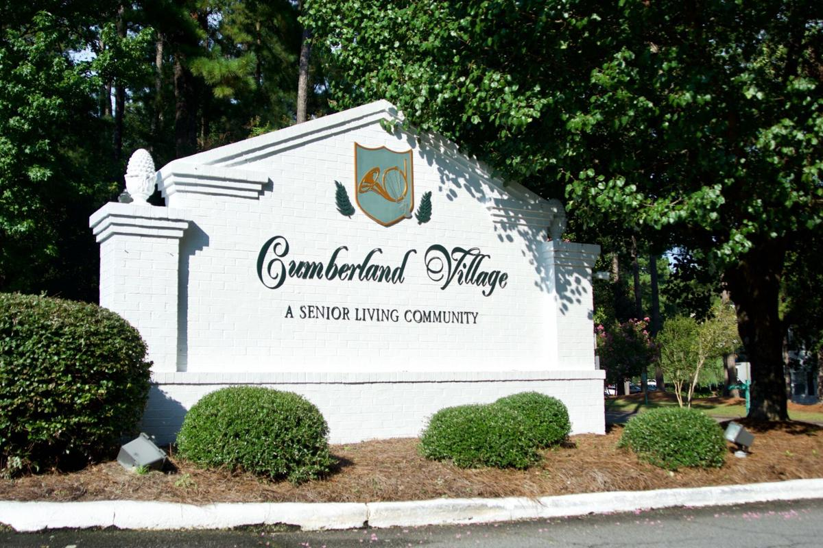 Cumberland Village, Entrance, COVID