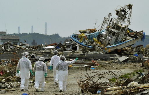 Japanese from nuke town allowed 1st visit to homes