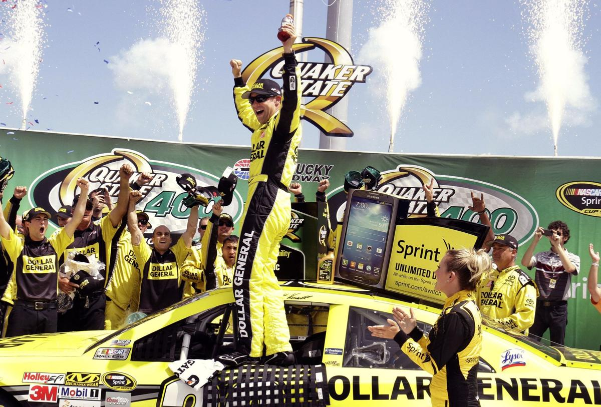 Kenseth's gamble pays off with win