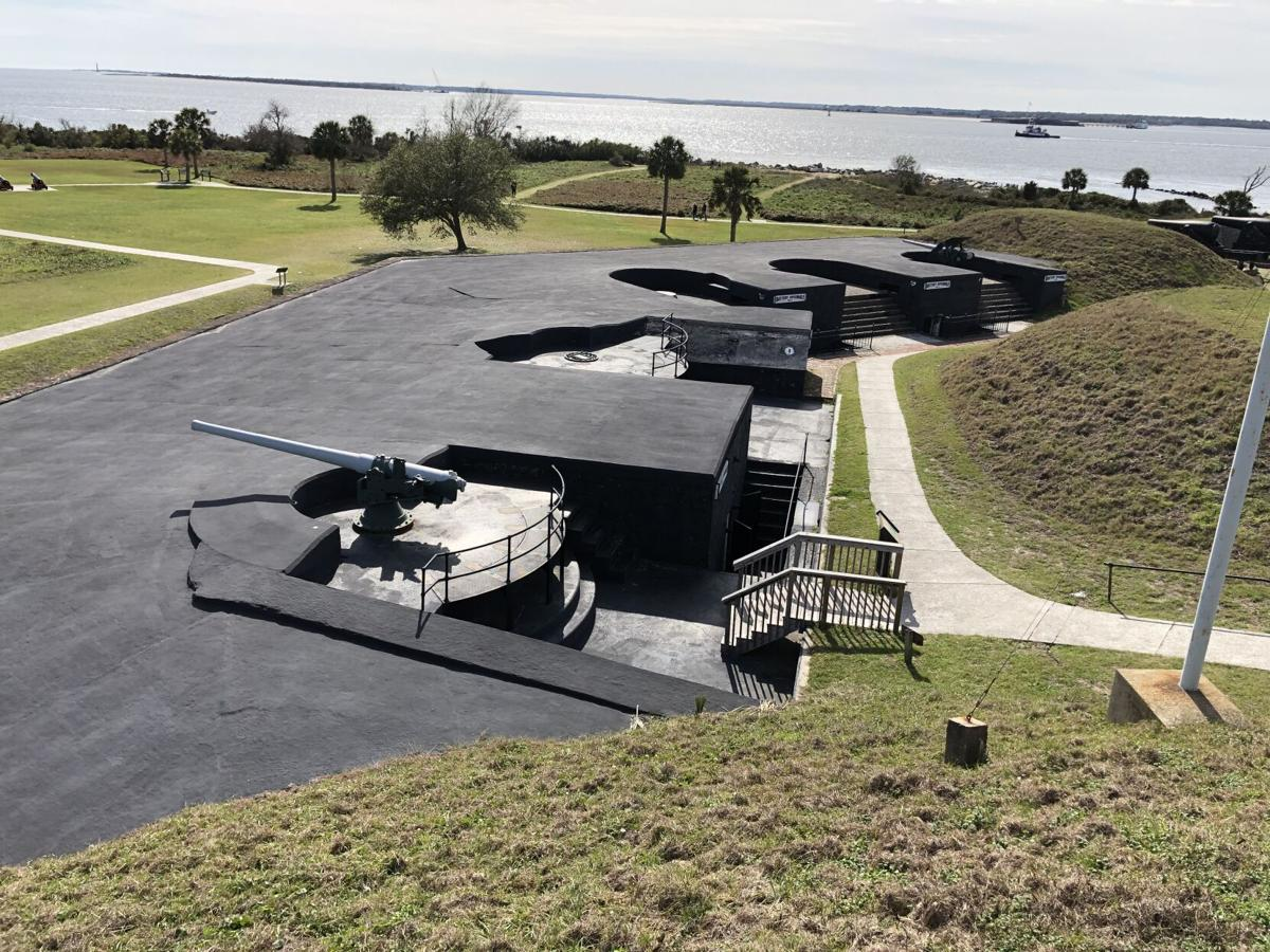 Fort Moultrie with water view