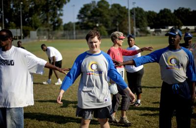 Game of blind baseball helps players cope