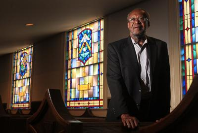 Rev. Joe Darby, presiding elder of the Beaufort District of the African Methodist Episcopal Church