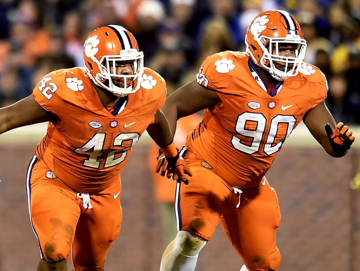 Clemson defensive line without challengers