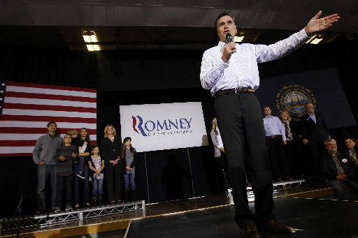 Rivals looking to chip away at Romney in NH