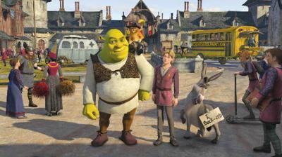 Lovable ogre, Fiona are back in 'Shrek the Third'